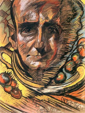 Portrait of Marceli Staroniewicz | Stanislaw Ignacy Witkiewicz | oil painting