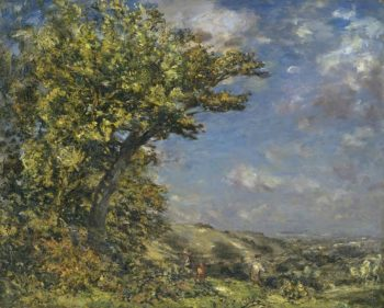 Stroud An Upland Landscape | Philip Wilson Steer | oil painting
