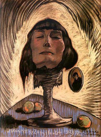 Portrait of Maria Nawrocka | Stanislaw Ignacy Witkiewicz | oil painting