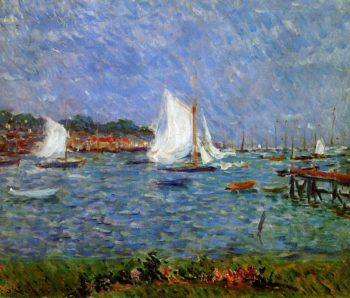 Summer at Cowes | Philip Wilson Steer | oil painting