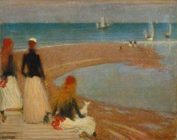The Beach at Walberswick | Philip Wilson Steer | oil painting