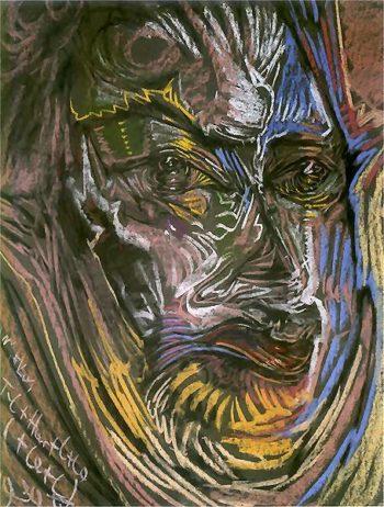 Portrait of Michal Choromanski | Stanislaw Ignacy Witkiewicz | oil painting