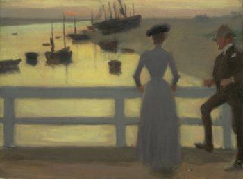 The Bridge | Philip Wilson Steer | oil painting