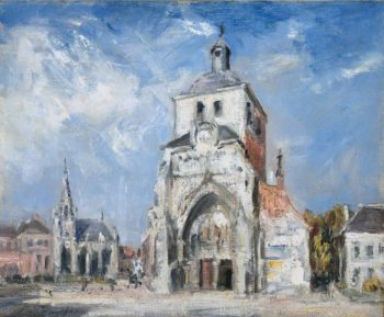 The Church at Montreuil | Philip Wilson Steer | oil painting