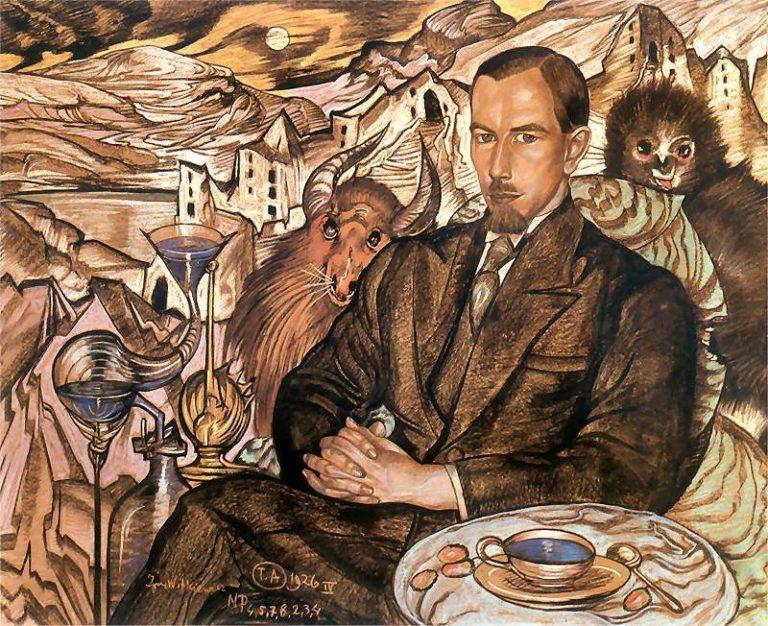 Portrait of Wlodzimierz Nawrocki | Stanislaw Ignacy Witkiewicz | oil painting