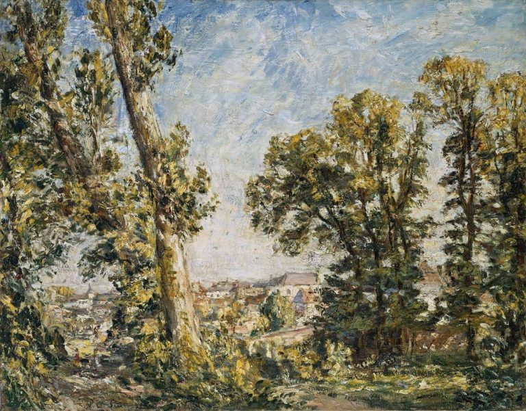 The Outskirts of Montreuil | Philip Wilson Steer | oil painting