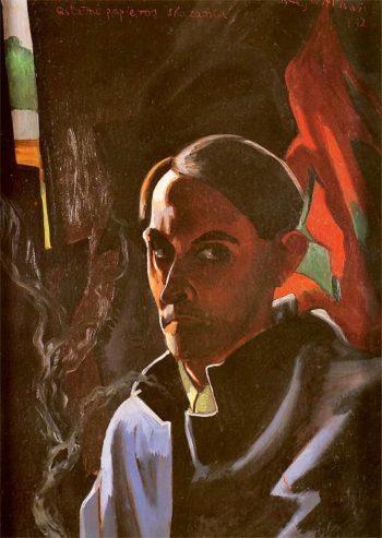 Self Portrait 3 | Stanislaw Ignacy Witkiewicz | oil painting