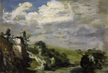 Yorkshire Moorland | Philip Wilson Steer | oil painting