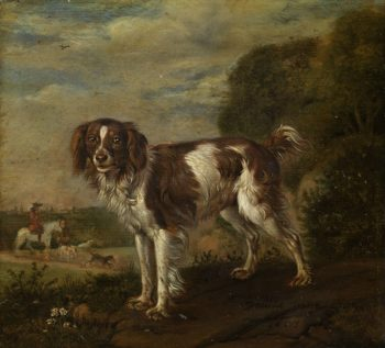 A patrijshond. 1653 | Paulus Potter | oil painting
