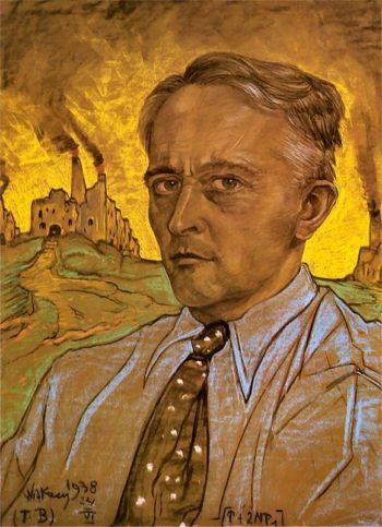 Self Portrait | Stanislaw Ignacy Witkiewicz | oil painting