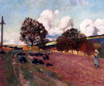 Breton Landscape | Robert Delaunay | oil painting