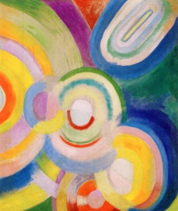 Colored Discs | Robert Delaunay | oil painting