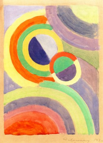 Composition | Robert Delaunay | oil painting