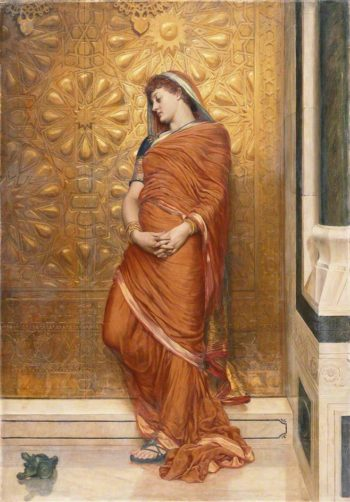 At the Golden Gate | Valentine Cameron Prinsep | oil painting