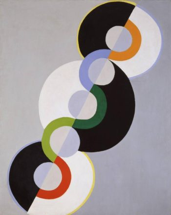 Endless Rhythm | Robert Delaunay | oil painting