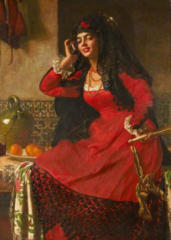 Carmen | Valentine Cameron Prinsep | oil painting