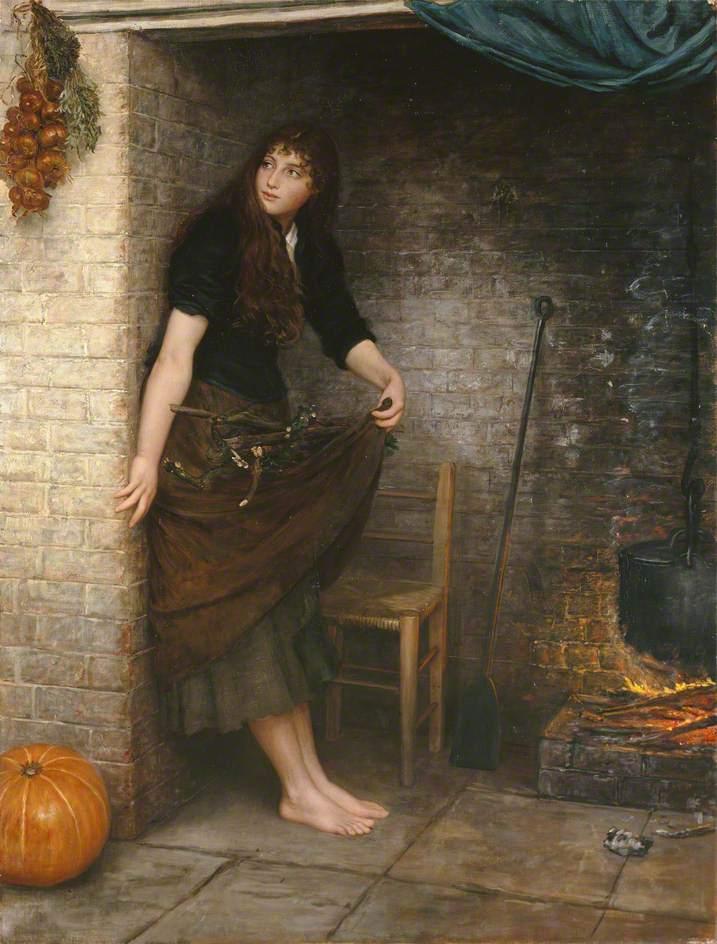Cinderella | Valentine Cameron Prinsep | oil painting