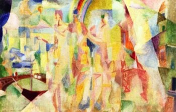 La Ville de Paris | Robert Delaunay | oil painting