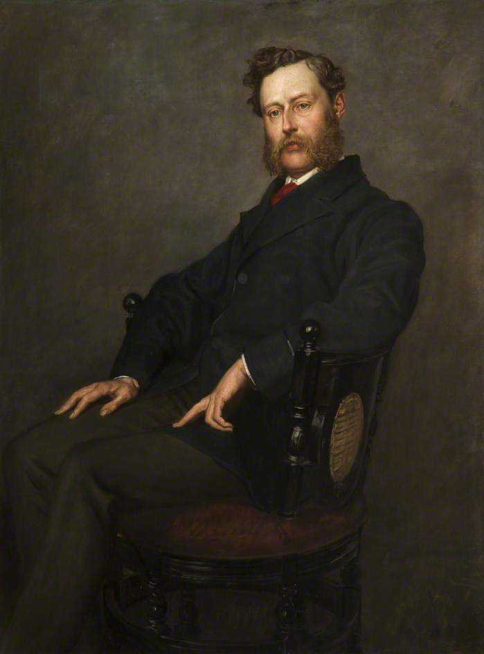 Colonel Oliver Ormerod Walker | Valentine Cameron Prinsep | oil painting
