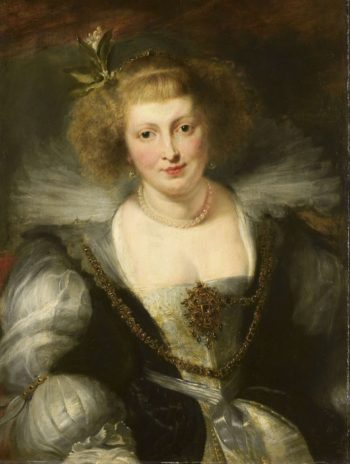 Helena Fourment (1614-73). Second wife of the painter. 1630 - ca. 1640 | Peter Paul Rubens | oil painting