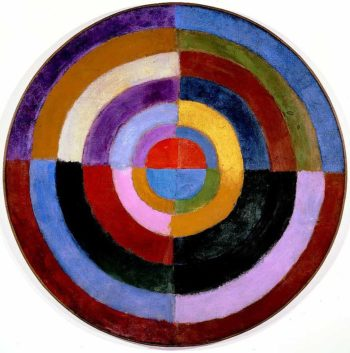 Le Premier Disque | Robert Delaunay | oil painting