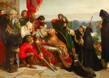 Death of Siward the Strong | Valentine Cameron Prinsep | oil painting