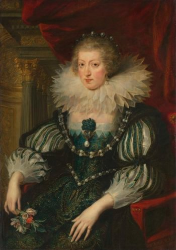 Anne of Austria (1601-66). Wife of Louis XIII