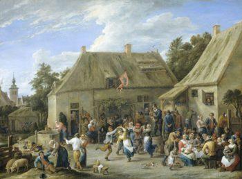 Peasant Fair. ca. 1665 | David Teniers (II) | oil painting