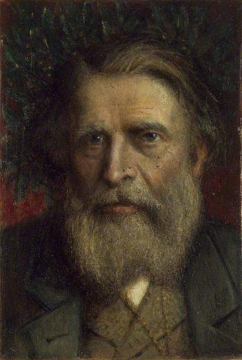 John Ruskin | Valentine Cameron Prinsep | oil painting