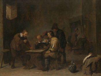 The Gamblers. ca. 1640 | David Teniers (II) | oil painting