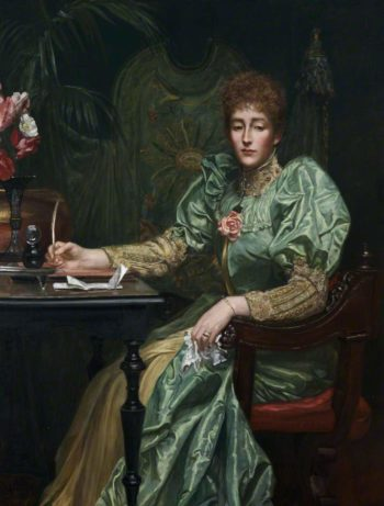 Lady Frances Layland Barratt | Valentine Cameron Prinsep | oil painting