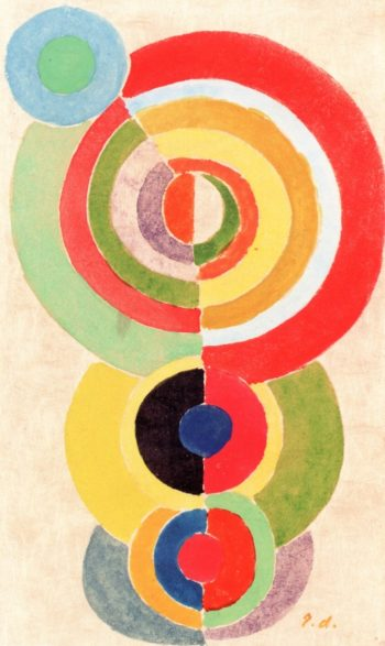 Rhythm I | Robert Delaunay | oil painting