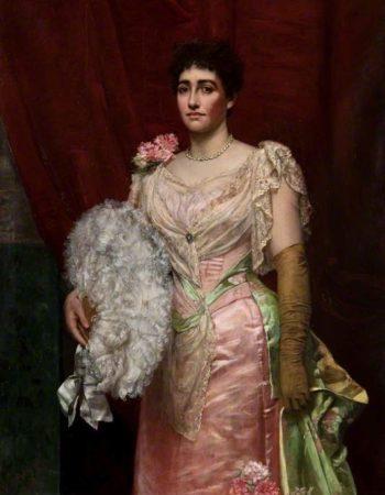 Lady Simpson | Valentine Cameron Prinsep | oil painting