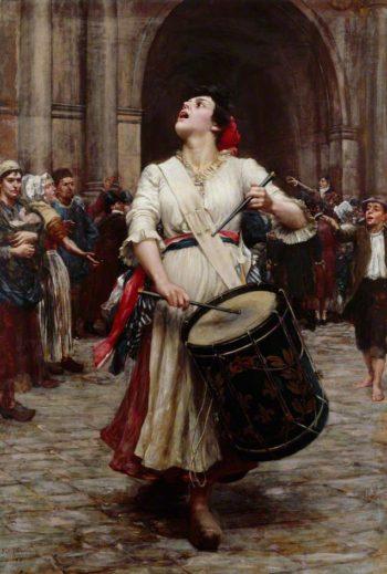 La Revolution | Valentine Cameron Prinsep | oil painting