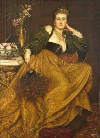 Leonora di Mantua | Valentine Cameron Prinsep | oil painting