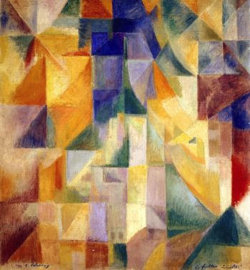 Simultaneous Windows | Robert Delaunay | oil painting
