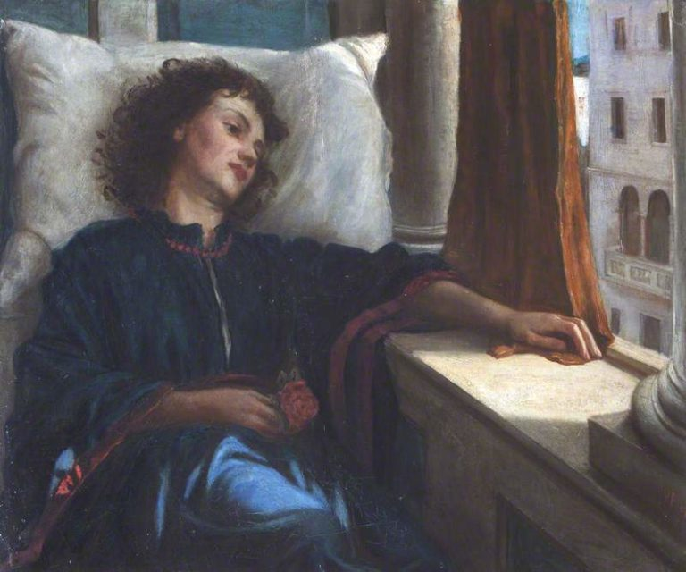 Lisa | Valentine Cameron Prinsep | oil painting
