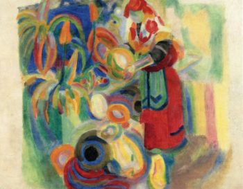 Study for La Grande Portugaise | Robert Delaunay | oil painting