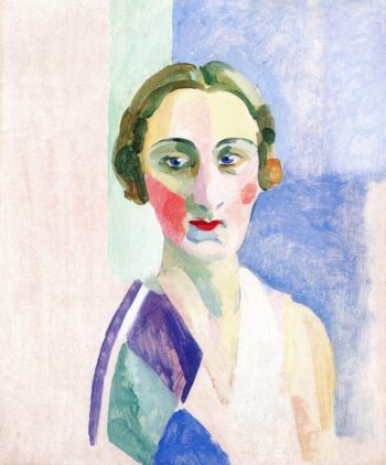 Study for the Portrait of Madame Heim | Robert Delaunay | oil painting