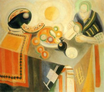 The Bowl | Robert Delaunay | oil painting