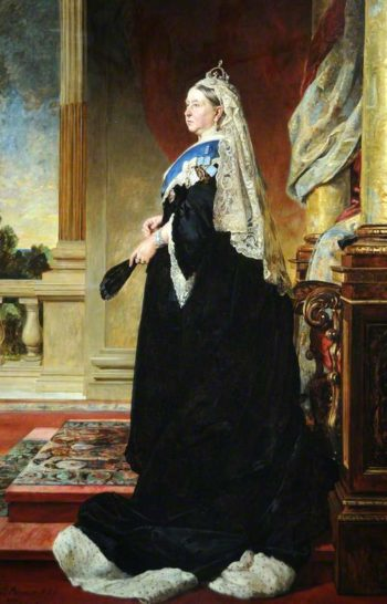Queen Victoria | Valentine Cameron Prinsep | oil painting