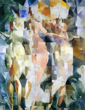 The Three Graces | Robert Delaunay | oil painting
