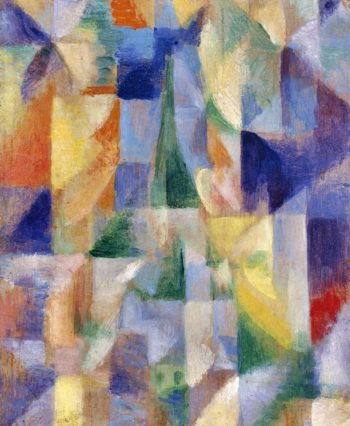 Window on the City | Robert Delaunay | oil painting