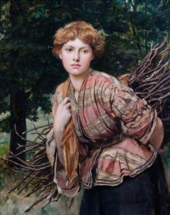 The Gamekeepers Daughter | Valentine Cameron Prinsep | oil painting