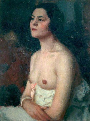 Femme a la chemise | Roderic OConnor | oil painting