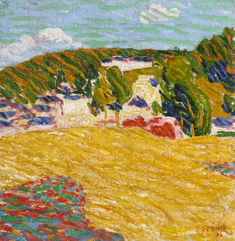 Field of Corn Pont Aven | Roderic OConnor | oil painting