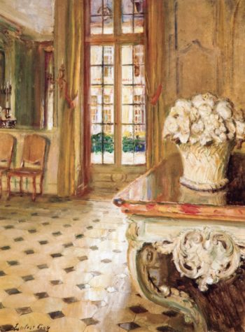 Dining Room Chateau du Breau | Walter Gay | oil painting