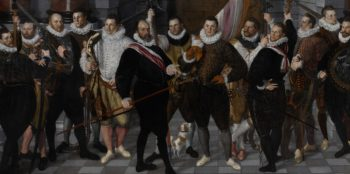 The Company of Captain Dirck Jacobsz Rosecrans and Lieutenant Peacock. 1588   Cornelis Ketel   oil painting