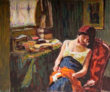 Interior | Roderic OConnor | oil painting