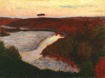 Landscape   Roderic OConnor   oil painting